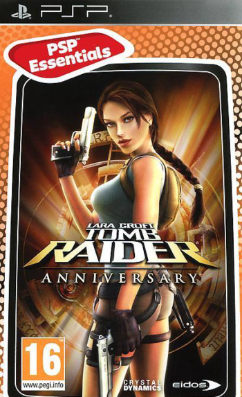 Игра Lara Croft Tomb Raider: Anniversary. Essentials (PSP)