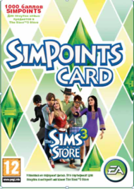 The Sims 3 SimPoints CARD (1000 баллов) - 0