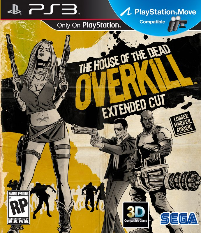 Игра The House of the Dead: Overkill (PS3)