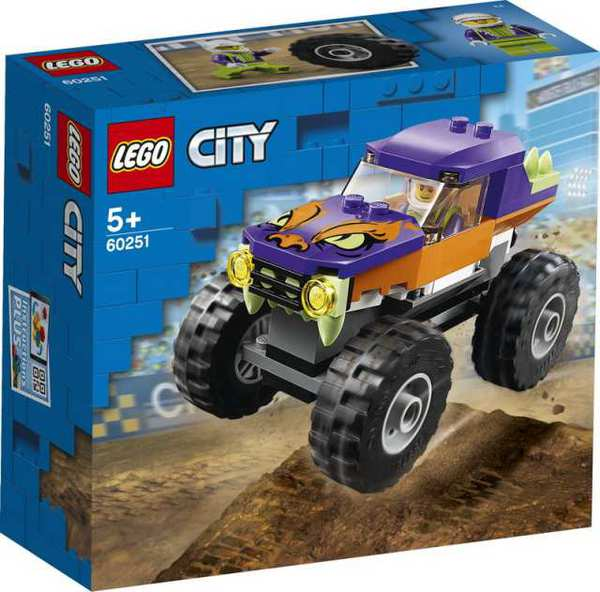Конструктор LEGO CITY Great Vehicles Монстр-трак