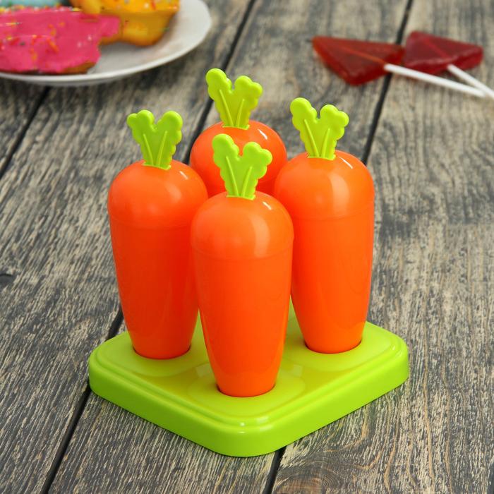 """Форма для мороженого """"Морковки"""" от 350 руб"""