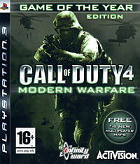 Игра Call of Duty 4: Modern Warfare. Game of the Year Edition (PS3)